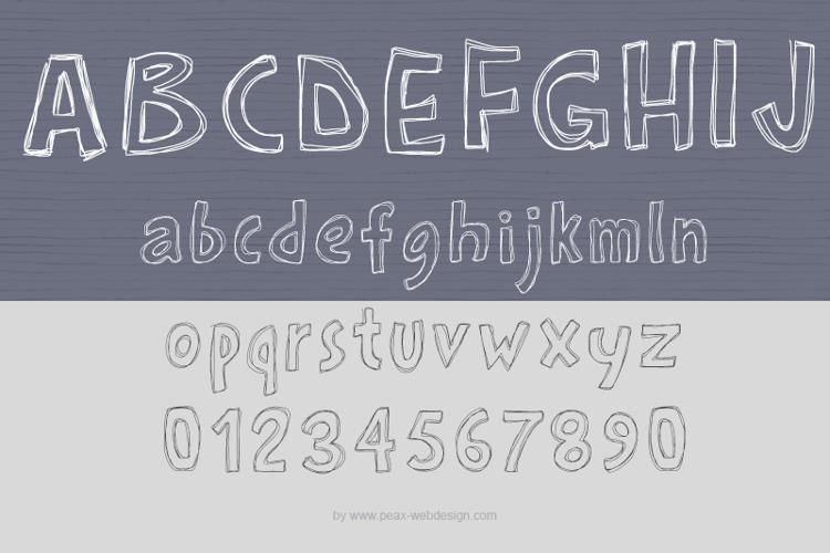 PWRoughs Font