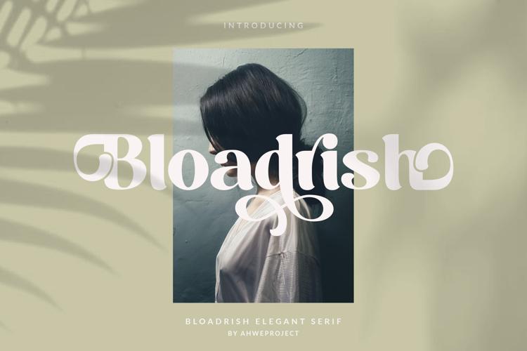 Bloadrish Font