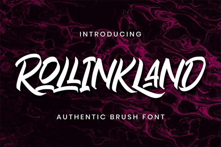 Rollinkland Font