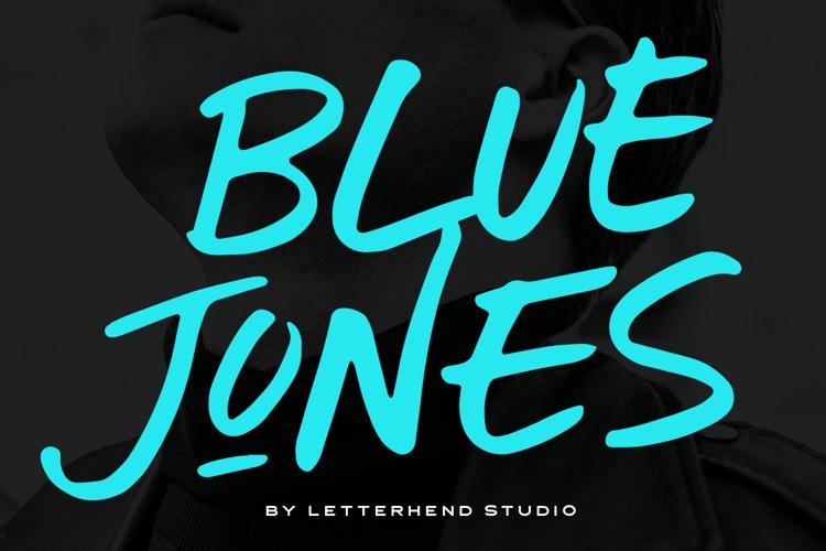 Blue Jones Font