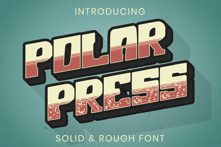 Polar Press Font