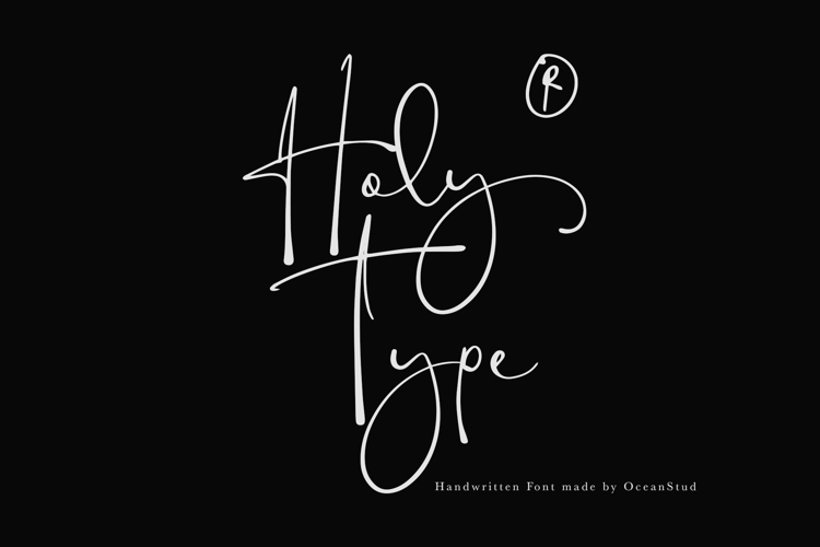 Holy Type Font