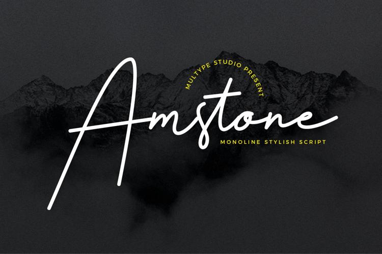 Amstone Font