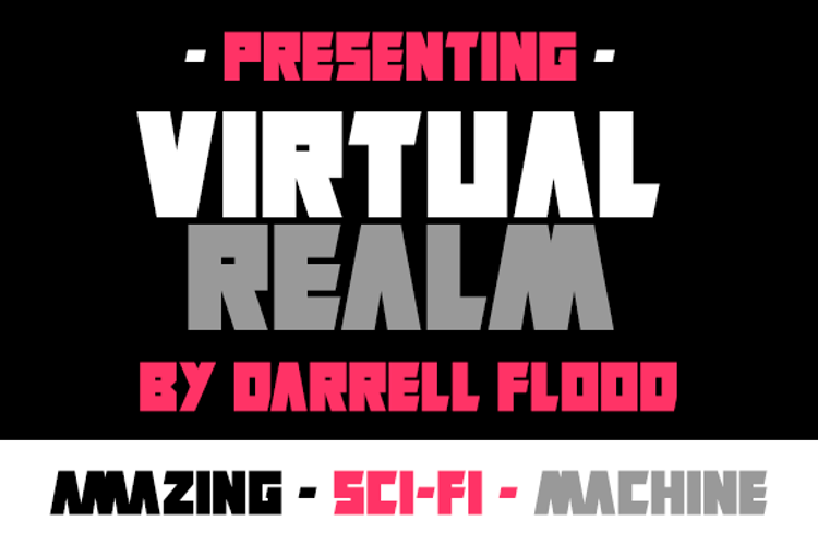 Virtual Realm Font