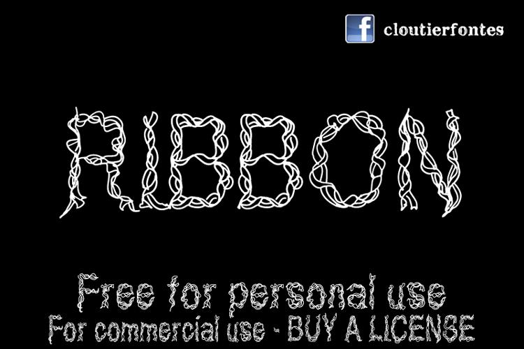 CF Ribbon Font