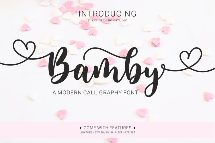 Bamby Font