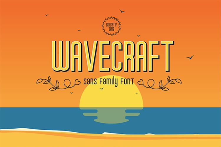 wavecraft Font