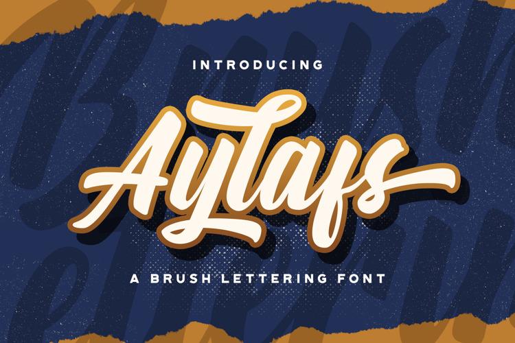 Aylafs Font
