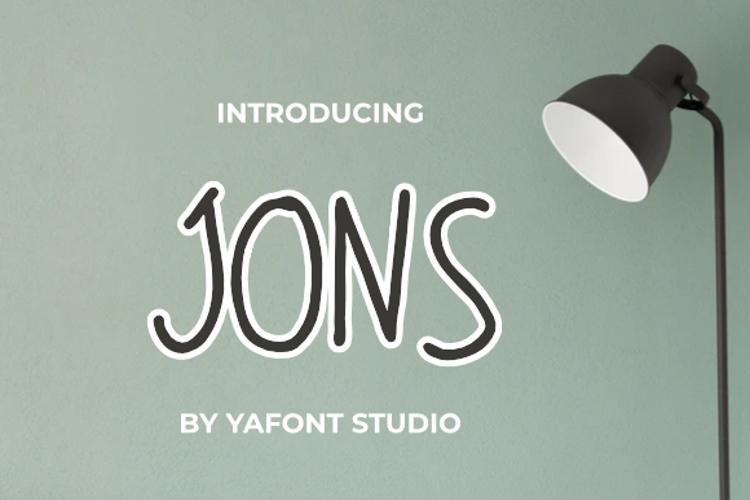 JONS Font
