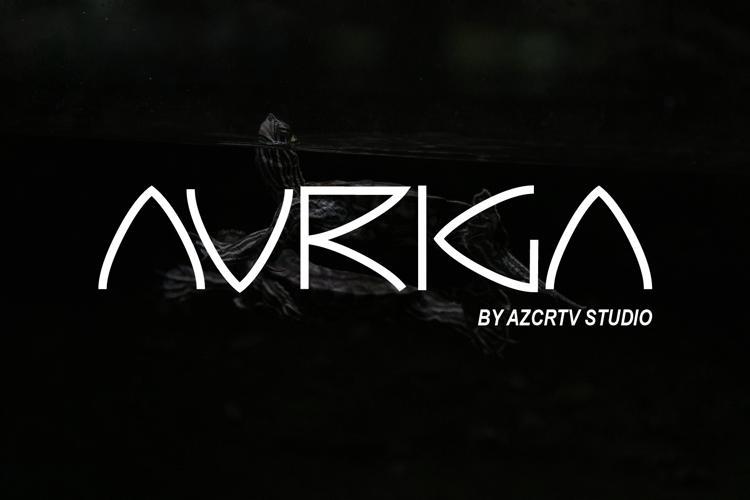 Auriga Font