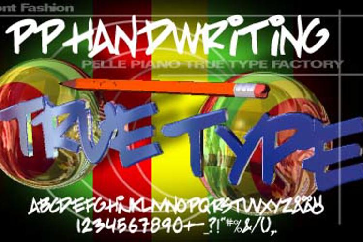 PP Handwriting Font