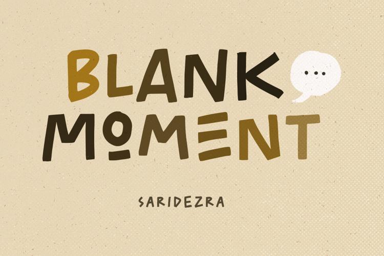 Blank Moment Font