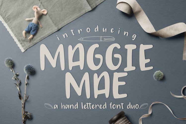 MAGGIE MAE Font
