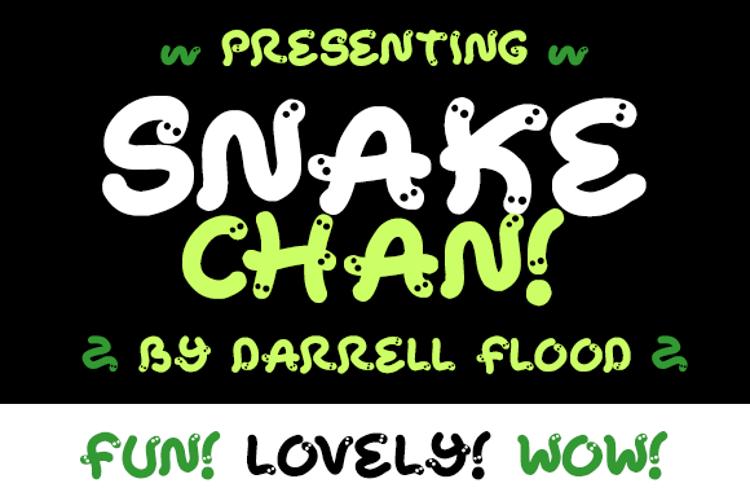 Snake Chan Font