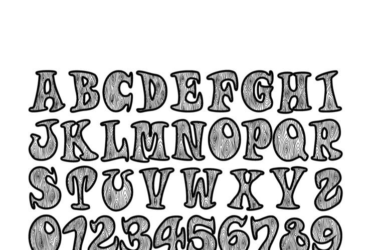 Woodys Font