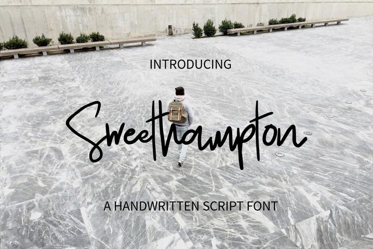 Sweethampton Font