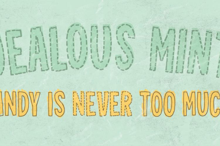 Jealous Mint DEMO Font