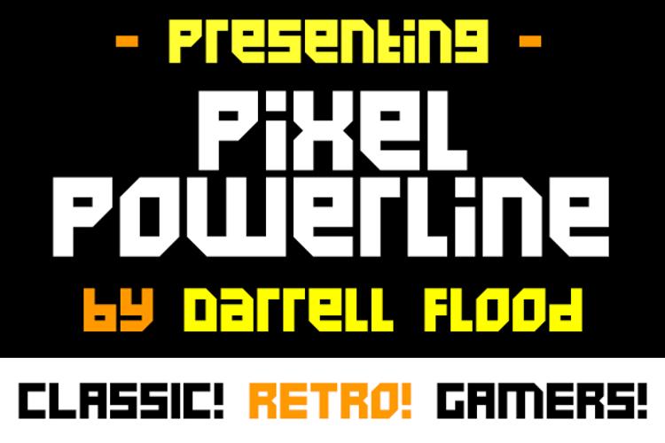Pixel Powerline Font