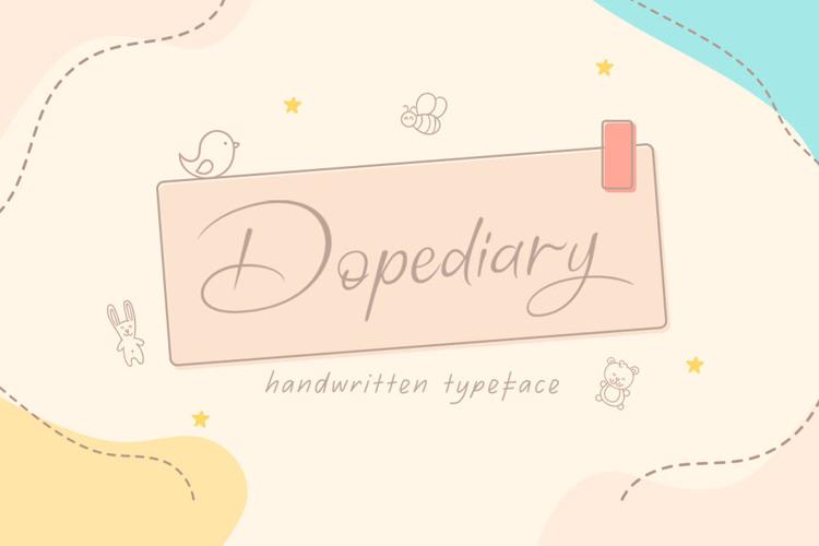 Dopediary Font