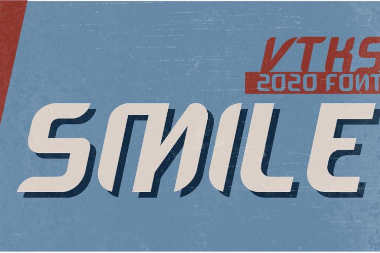 VTKS SMILE Font