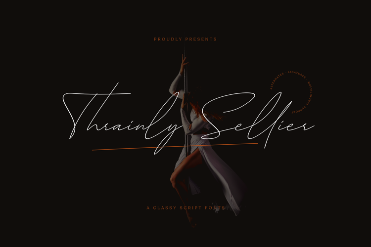 Thrainly Sellier Font