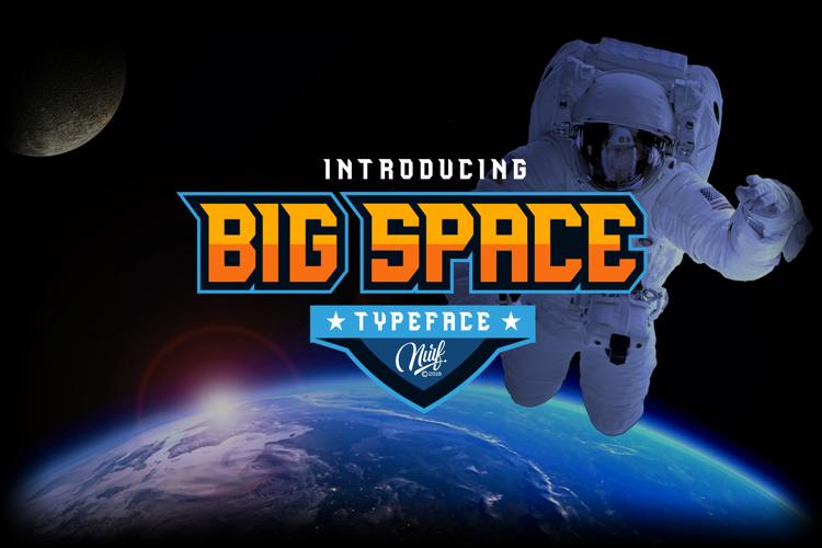 Big Space Font