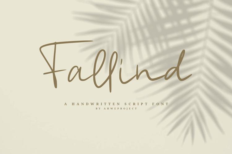 Fallind Font