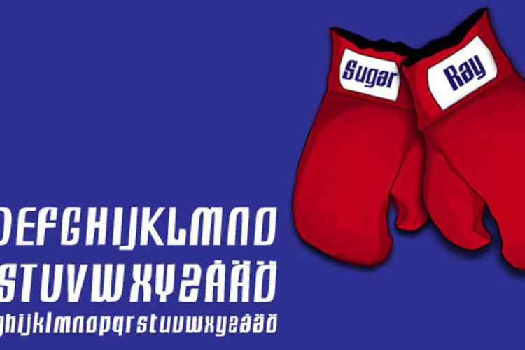 Sugar Ray Font
