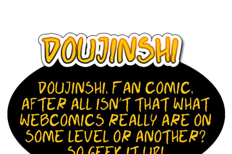 Doujinshi Font