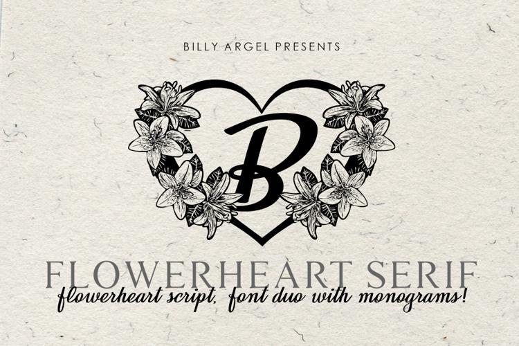 FLOWERHEART Font