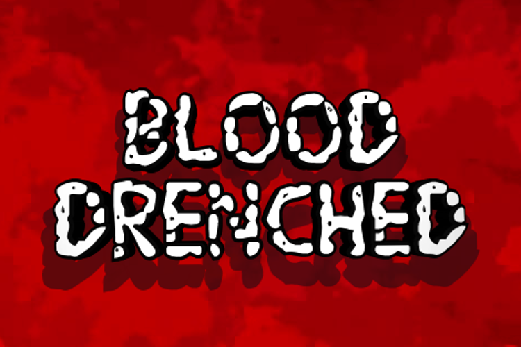 Blood Drenched Font