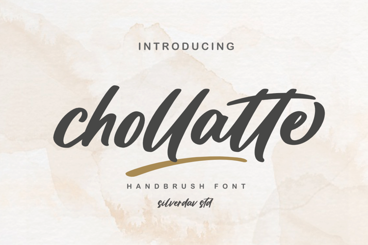 Chollatte Font