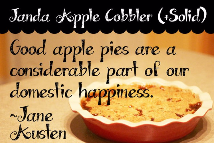 Janda Apple Cobbler Font