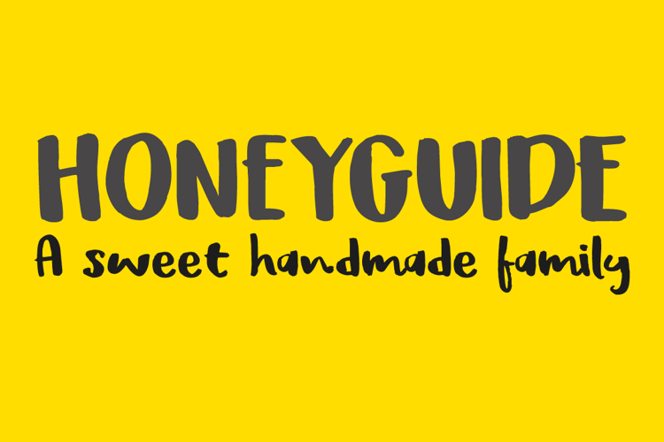 DK Honeyguide Caps Font