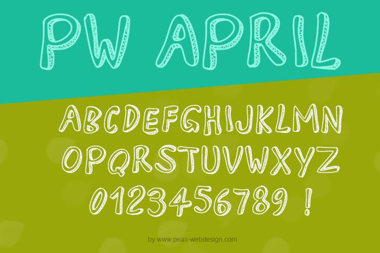 PWApril Font