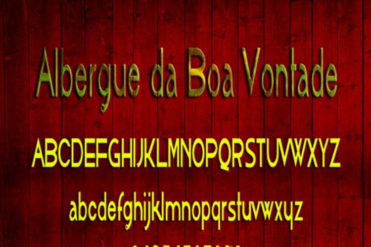 AlbergueBoaVontade Font