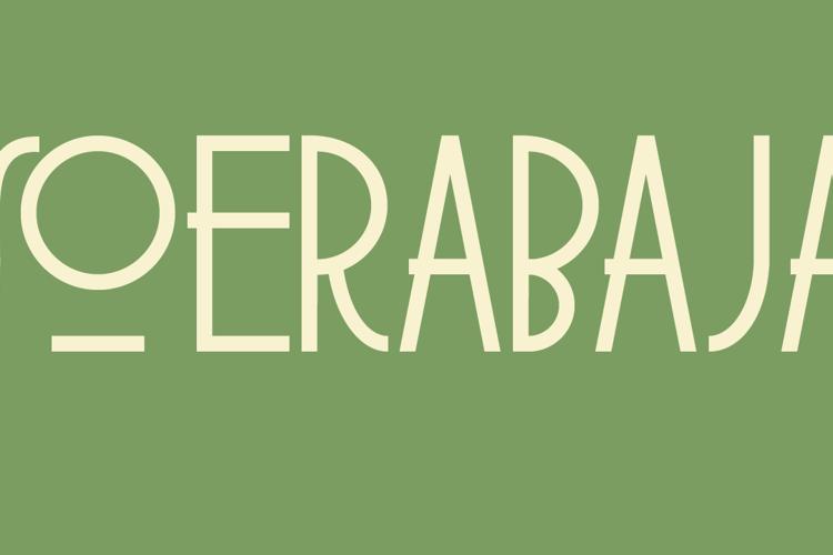 DK Soerabaja Font