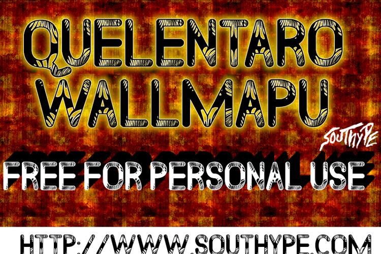 Quelentaro Wallmapu St Font