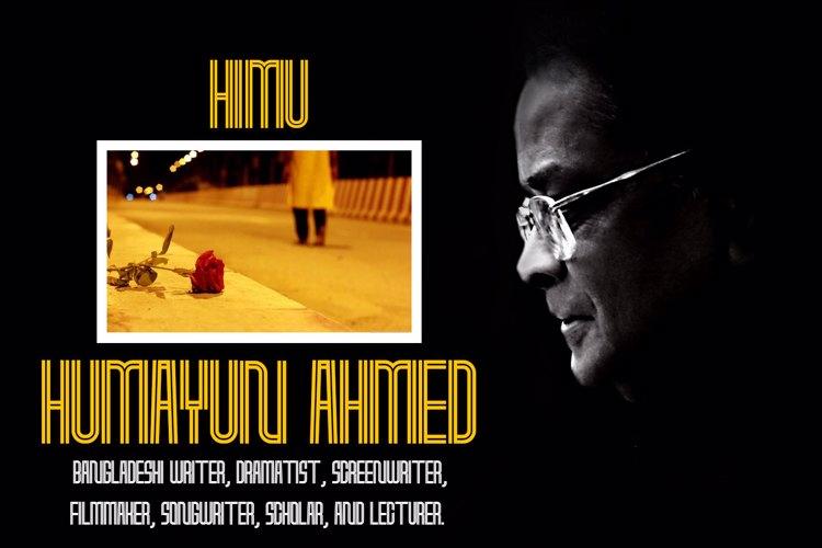 Humayun Ahmed Font