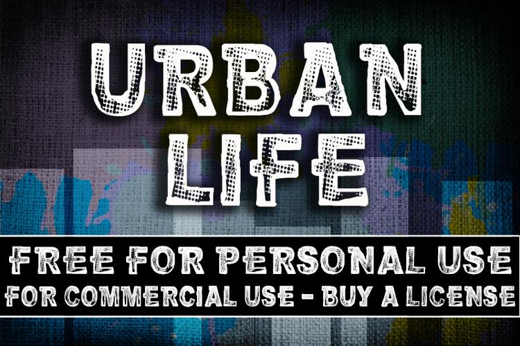 CF Urban Life Font