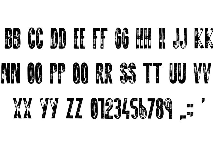 DO NOT DISTURB Font