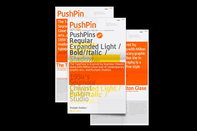 PushPins Font