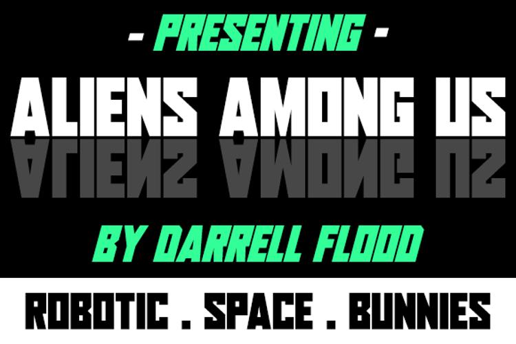 Aliens Among Us Font