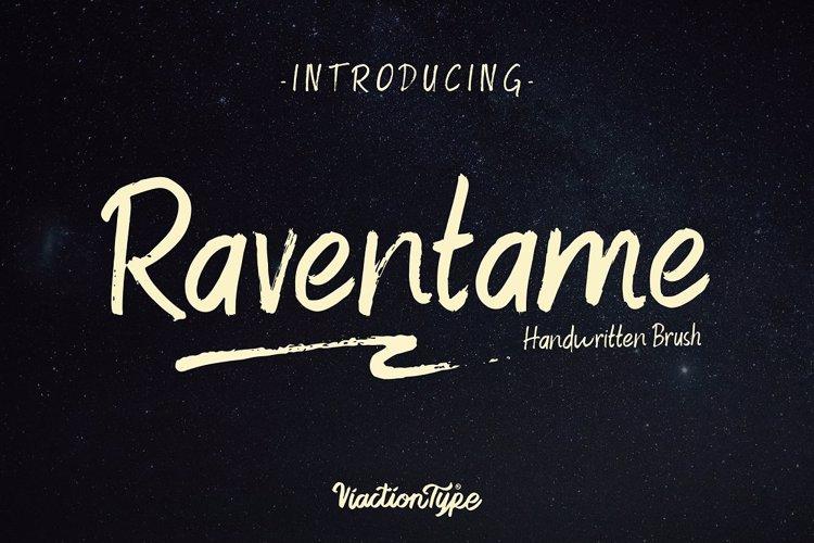Raventame Version Font
