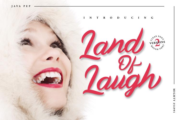 Land Of Laugh Font