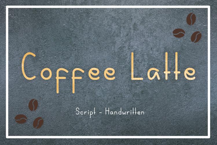 Coffee Latte Font
