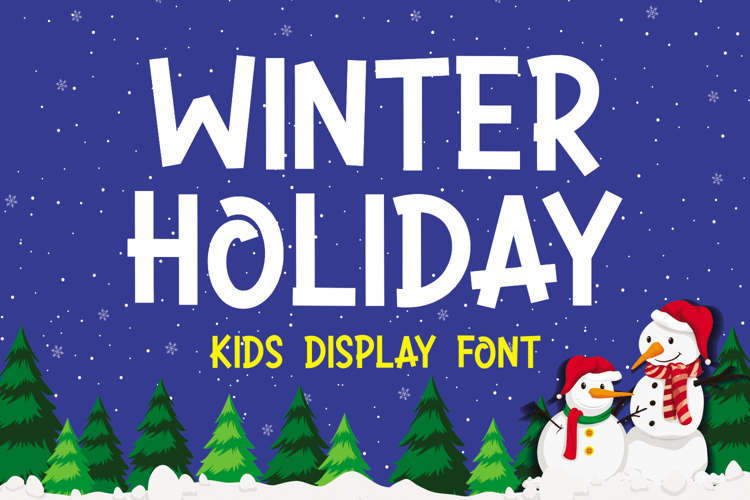 WINTER HOLIDAY Font