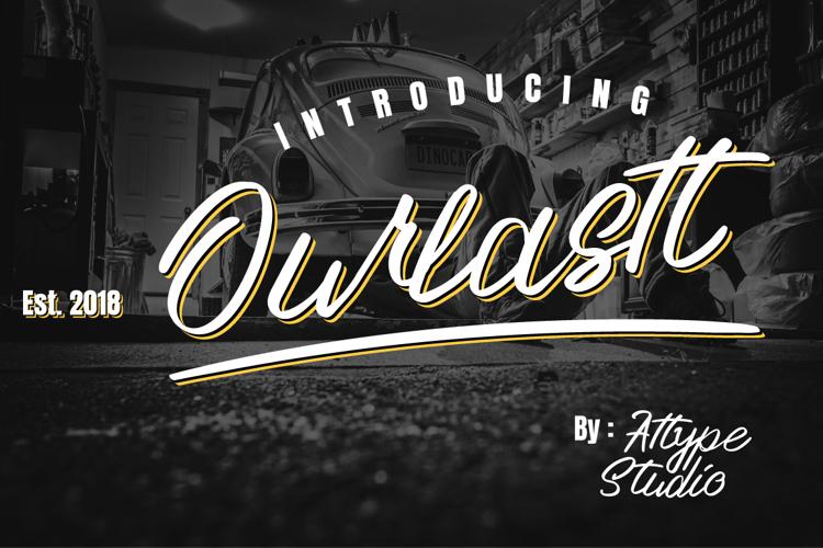 Ourlastt-Demo Font
