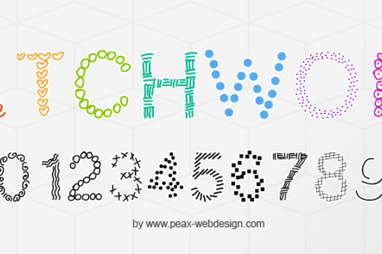PWPatchwork Font