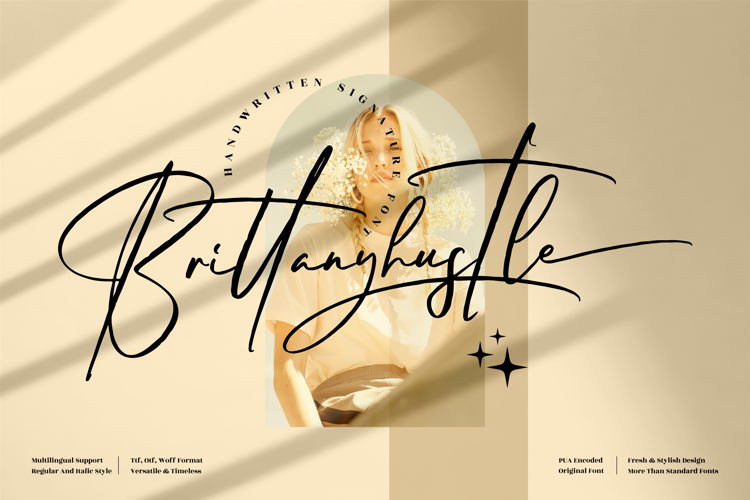 Brittanyhustle Font